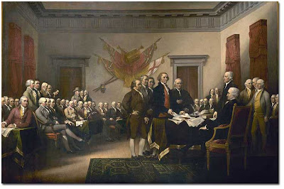 John Trumbull, Declaration of Independence (1819)