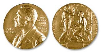 Nobel medal in Literature