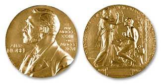 Nobel medal in Literature