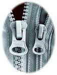 zip fasteners