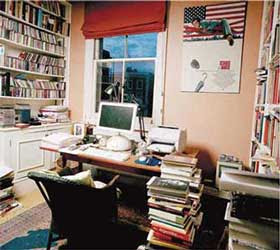 William Boyd's study