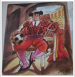 Toros y Fútbol por Antonio Mingote