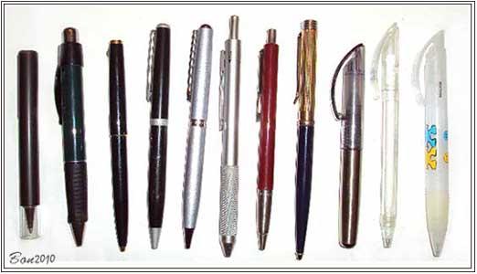 My ball pens