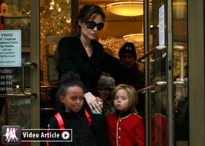 Angelina Jolie, Celebirty