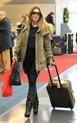 Rachel Uchitel,  JFK Airport,Entertainment