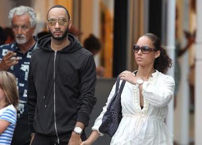 Alicia Keys ,Swizz Beatz, married couple