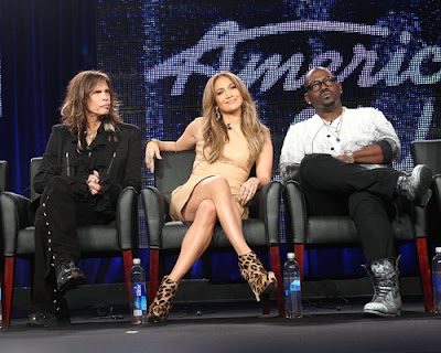 Jennifer Lopez, Randy Jackson, Steven Tyler, Entertainment