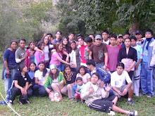 Algunos de los Jovenes campamento 2007