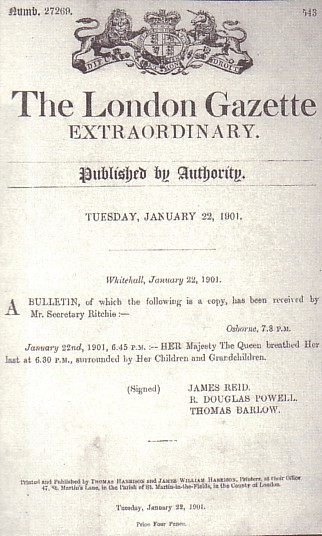 The victorianist the queen is slowly sinking or the 110 year the queens death due to the somewhat rose tinted circulars issued to the press in the last few months of her life came with seemingly little warning yadclub Gallery
