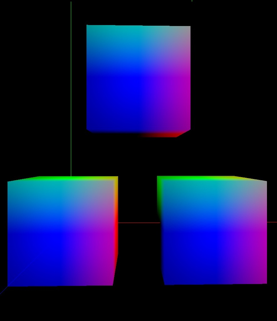 in the x direction the regular normalization cubemap in the xydirection a bfn cubemap with a bias vectorvec(). sebh's blog best fit normal map generator  source code