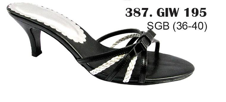 Sandal Cewek Kulit 387