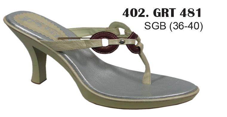 Sandal Cewek Kulit 402