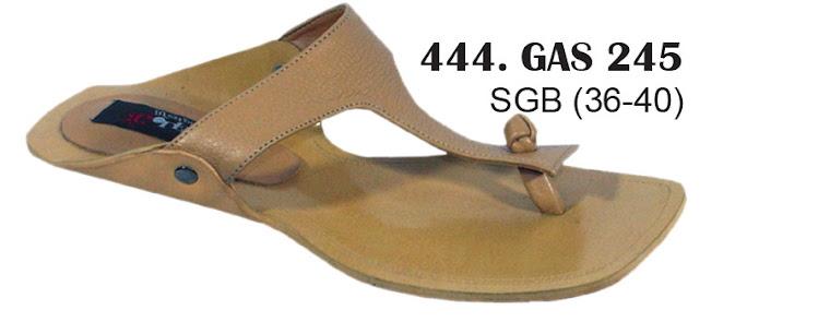 Sandal Cewek Kulit 444