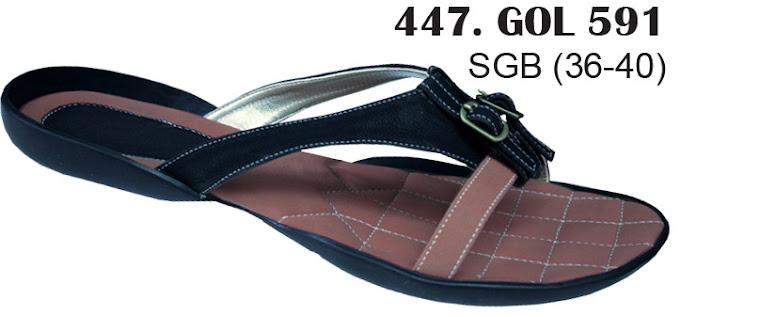 Sandal Cewek Kulit 447