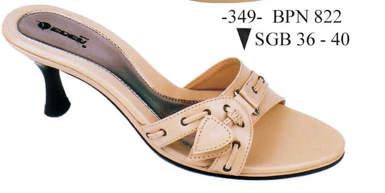 Sandal Cewek Kulit 349B