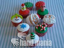 """Os Cupcakes de Natal da Hand Mania Bolos no Programa """"Companhia das Manhãs"""" na SIC"""