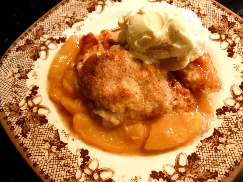 Southern Peach Cobbler | Lake Lure Cottage Kitchen