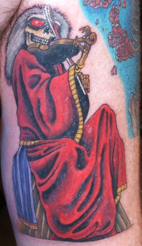 Grateful Dead Tattoos has posted two other Blues For Allah tattoos that can