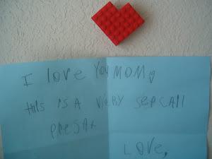 C's Lego heart