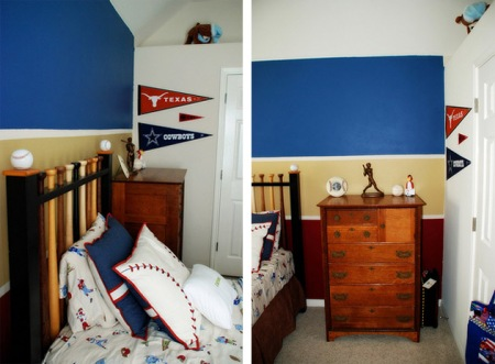 Bedroom on Baseball Boys Room   Boy Room Ideas