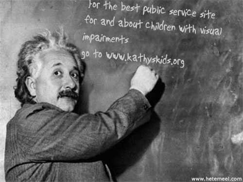 Einstein Knows Best