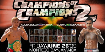 Champions of Champions 2 - Cosmo Alexandre