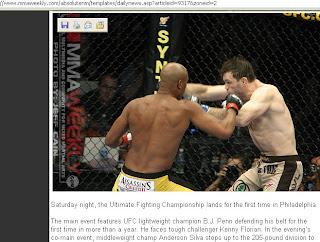 Anderson Silva dá show no UFC 101