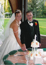 Bob and I on our Wedding Day