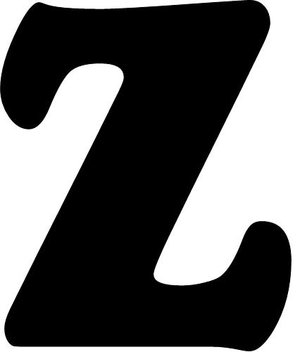 Modelos De Letras De N A Z Para Mural