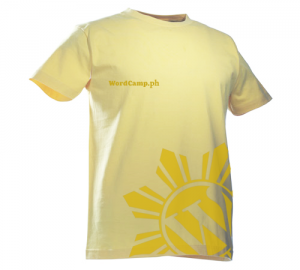 WordCamp PH 2009 Official Campers' Shirt