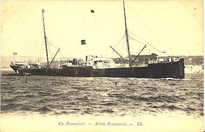 Adhemar bateaux de la compagnie fraissinet - Bastia marseille bateau ...