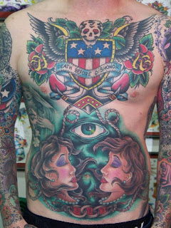 Oliver Peck Tattoos
