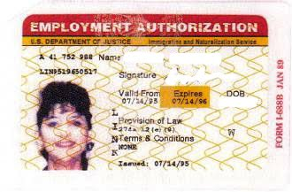 how to get employment authorization card