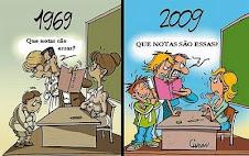 Essa é a história da educação...
