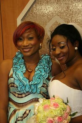 PHOTOS FROM STAR ACTRESS INI EDO WHITE WEDDING IN HOUSTONTXUSA ON SATURDAY 28 FEBRUARY 2009