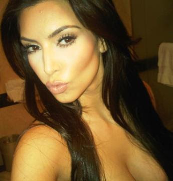 kim kardashian twitter page. Kim Kardashian shows off what