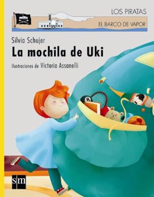 La mochila de Uki, texto: Silvia Shujer, ilustraciones: Victoria Assanelli