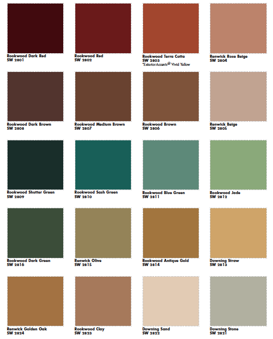 about 90 colors which they suggest are of a victorian color palette