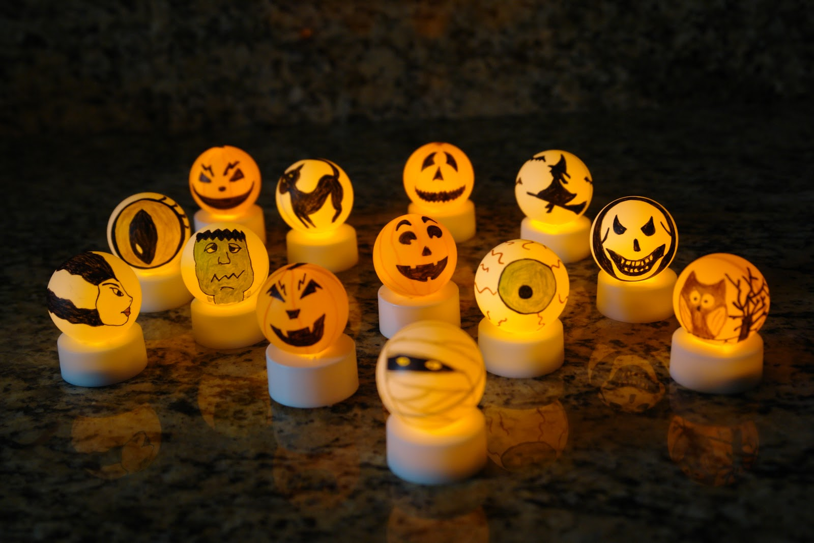 lights off - Halloween Ping Pong Balls