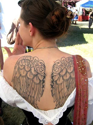 Angel Wings Tattoo Pictures Gallery: angel wings tattoo photos submitted to