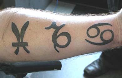 capricorn tribal tattoo picture