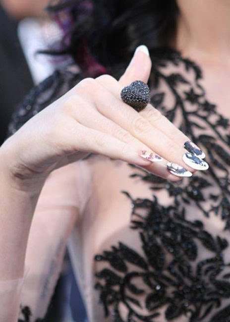 Katy perry nails tattoo design