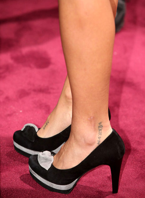 tattoo,celebrity tattoo designs,monica cruz tattoo images,tattoo gallery