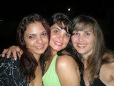 Joyce, eu e Mayza....