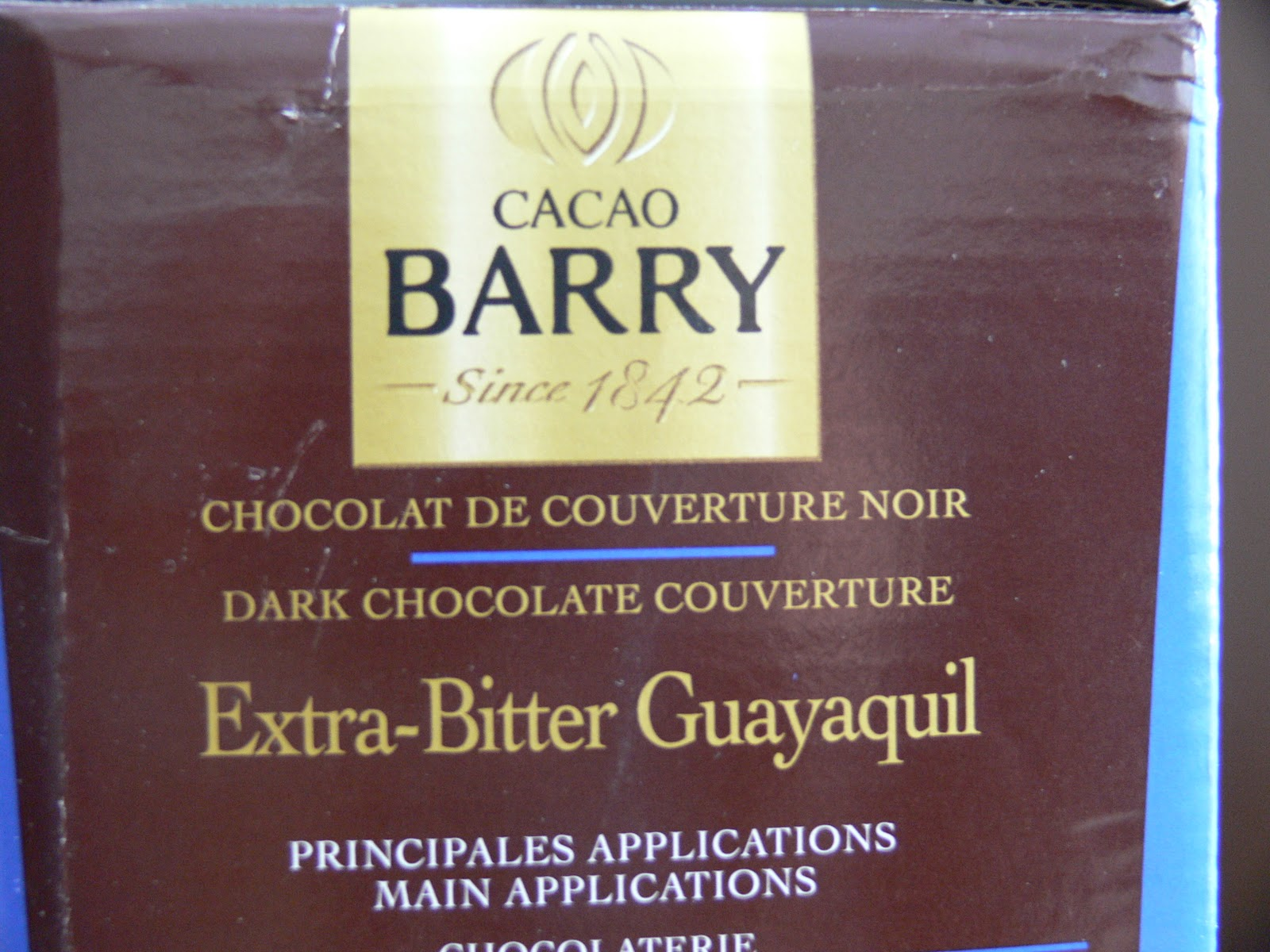 The Ultimate Chocolate Blog: E. Guittard and Cacao Barry ...