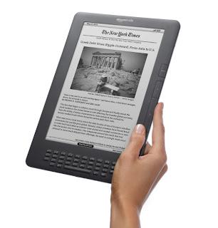 czytnik ebooków Kindle DX