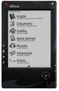 czytnik ebooków eClicto