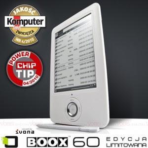 czytnik ebooków ONYX BOOX 60 - limitowana edycja w VOBIS