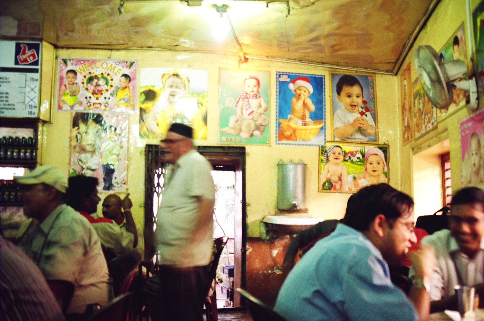 Inside the Irani Restaurant 01
