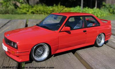 BMW E30 scale